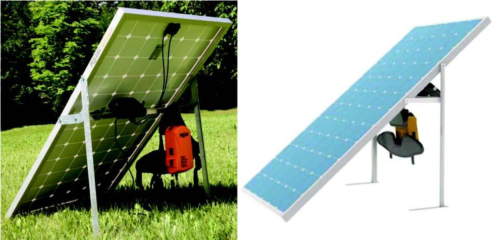 Pellenc SOL260 Solerion Solar Charging Station Image