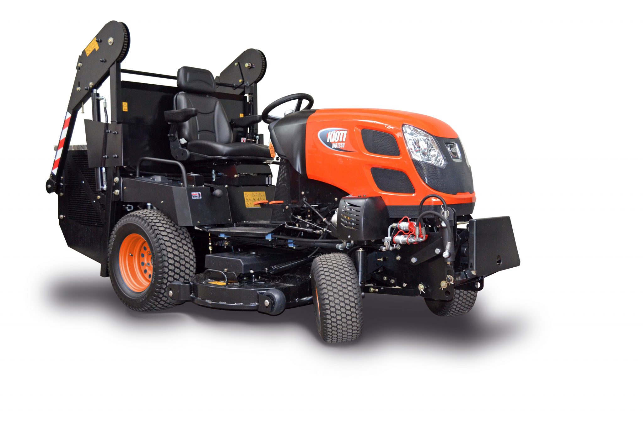 Kioti WD1260 Ride-on Mower Image